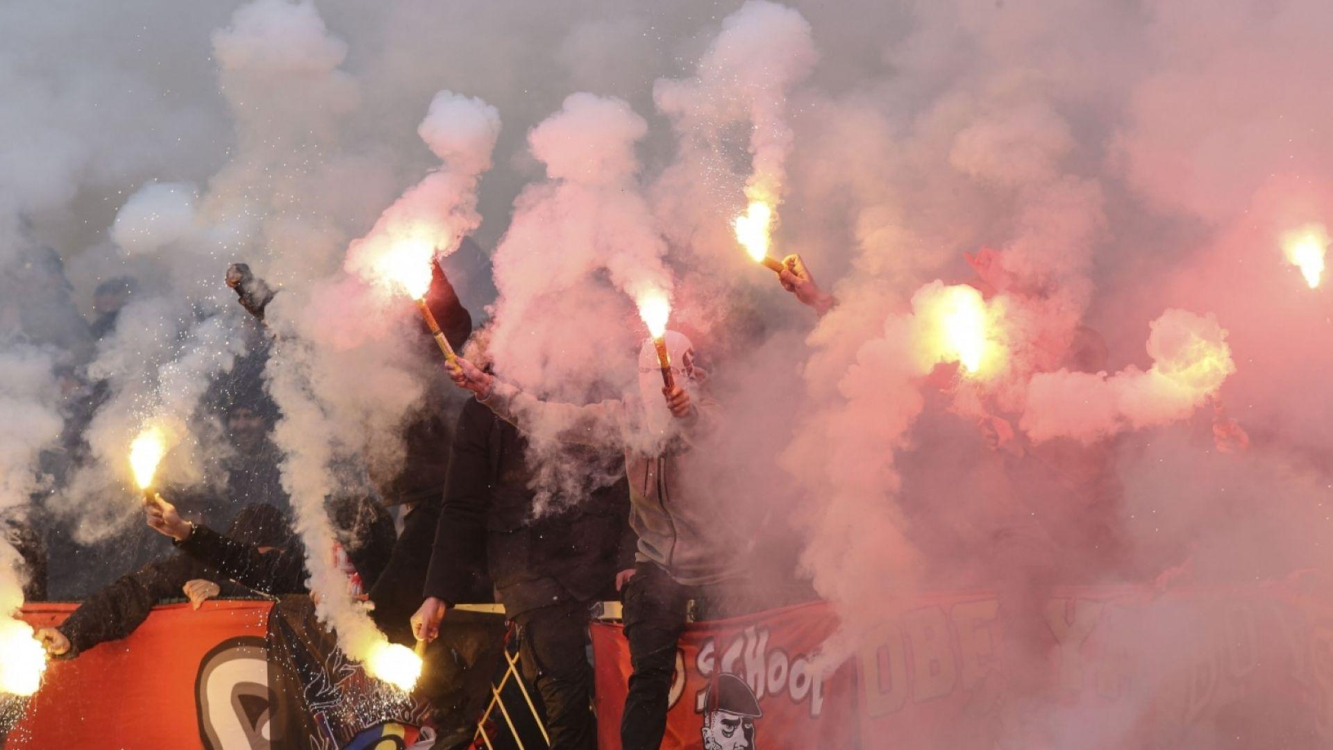Сериозни глоби за ЦСКА и Левски след дербито