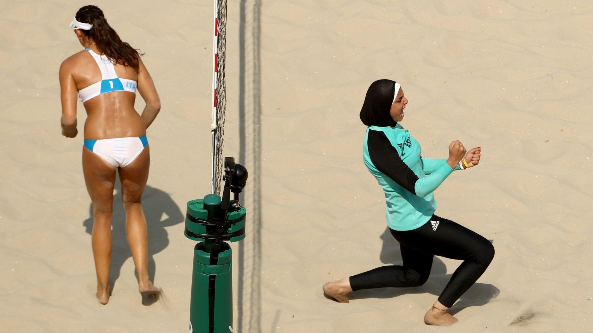 Хиляди заплахи спряха продажбата на спортен хиджаб във Франция