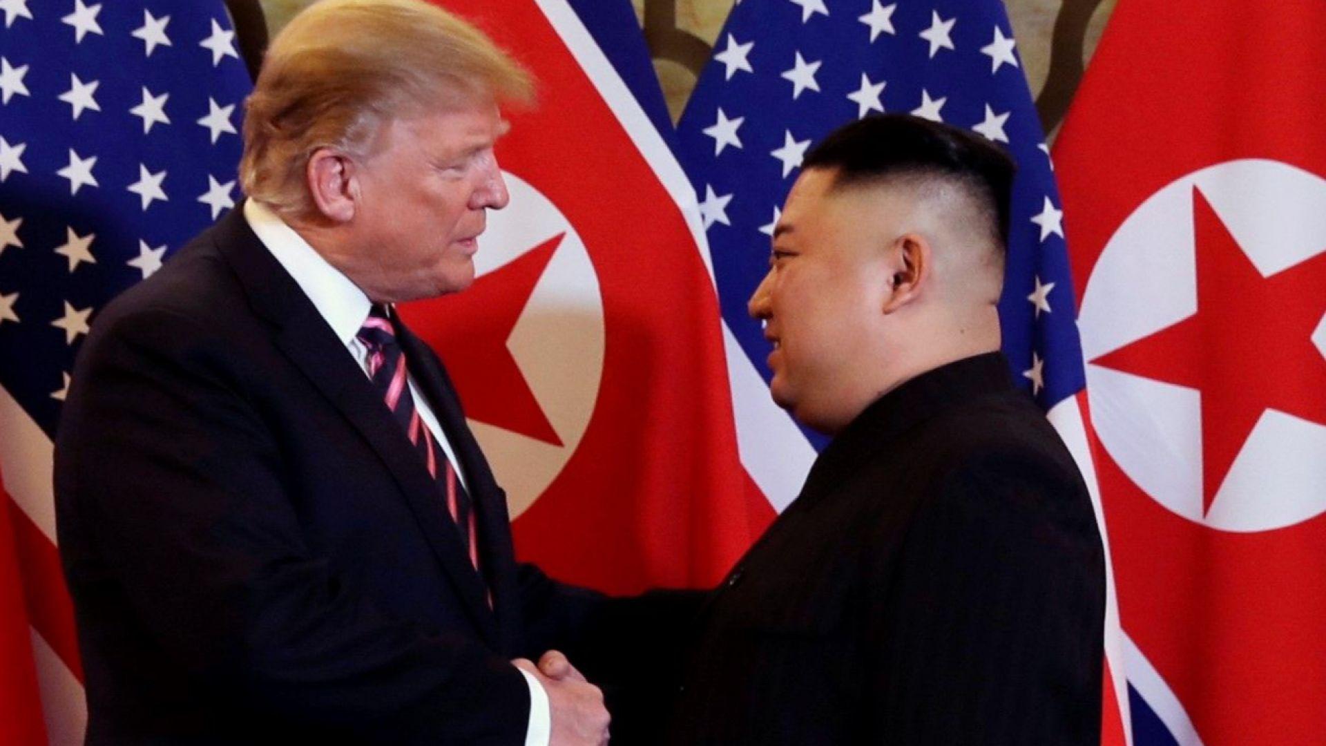 Тръмп към Ким: Вие сте великолепен лидер на страна с великолепен потенциал
