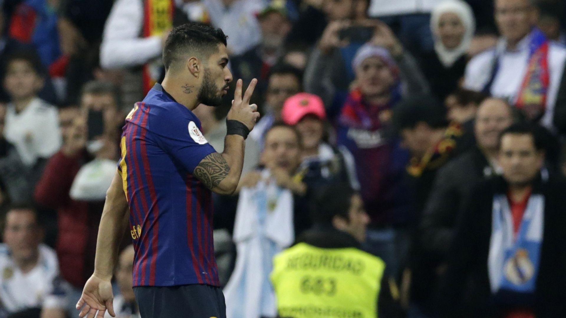 Барса изхвърли Реал след смъртоносни куршуми на Суарес