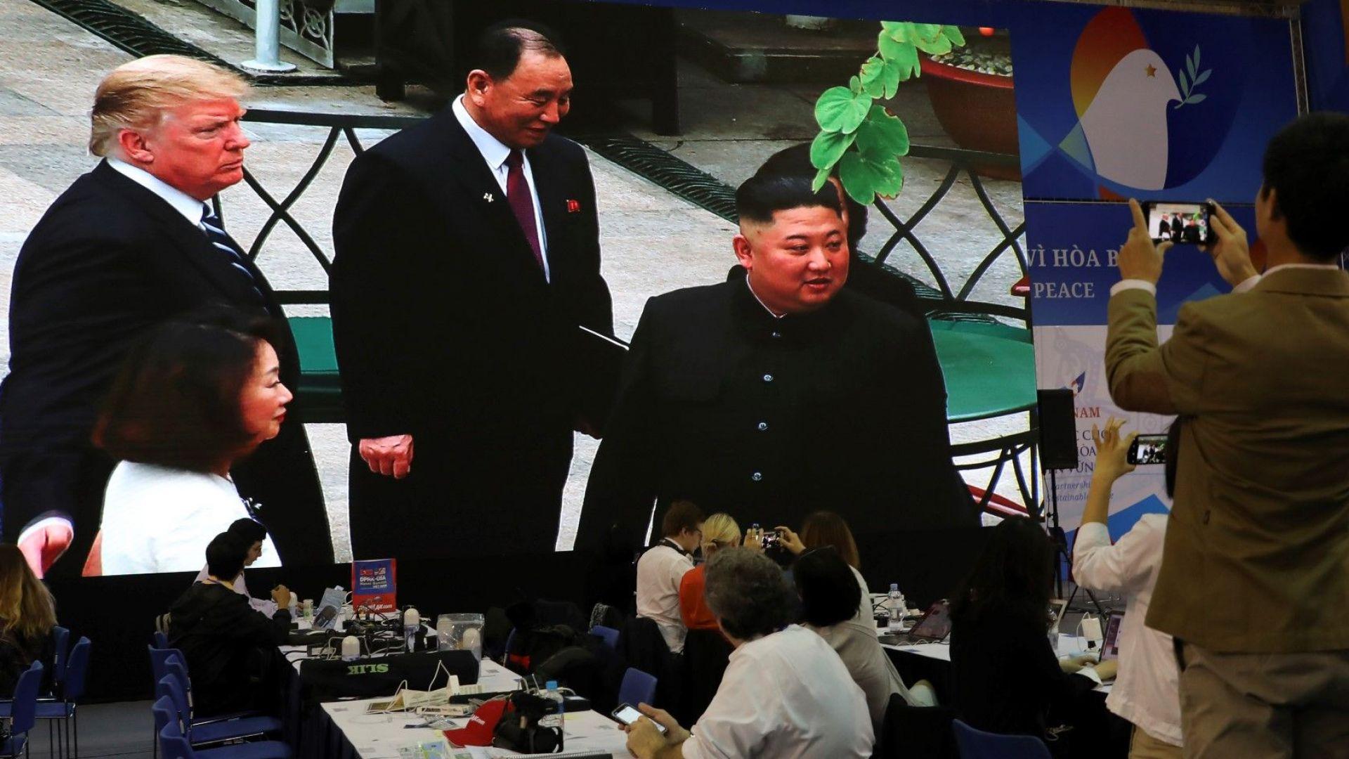 Тръмп и Ким не успяха да стигнат до сделка при втората си среща