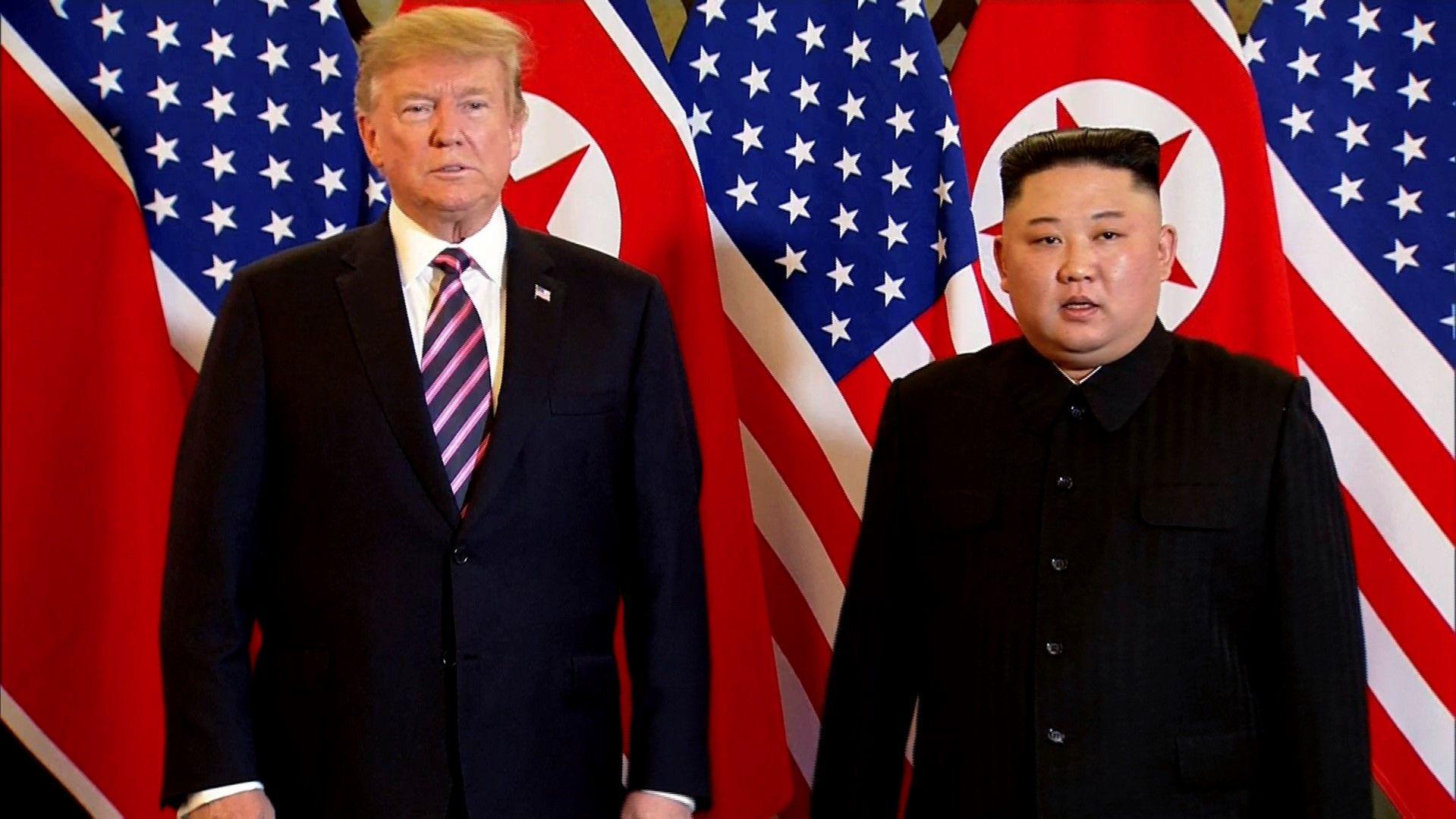 Въпреки неуспеха Доналд Тръмп и Ким Чен-ун се разделили приятелски