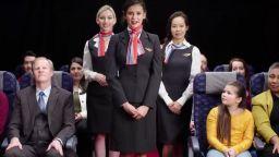 Нина Добрев влезе в ролята на българска стюардеса за Vanity Fair