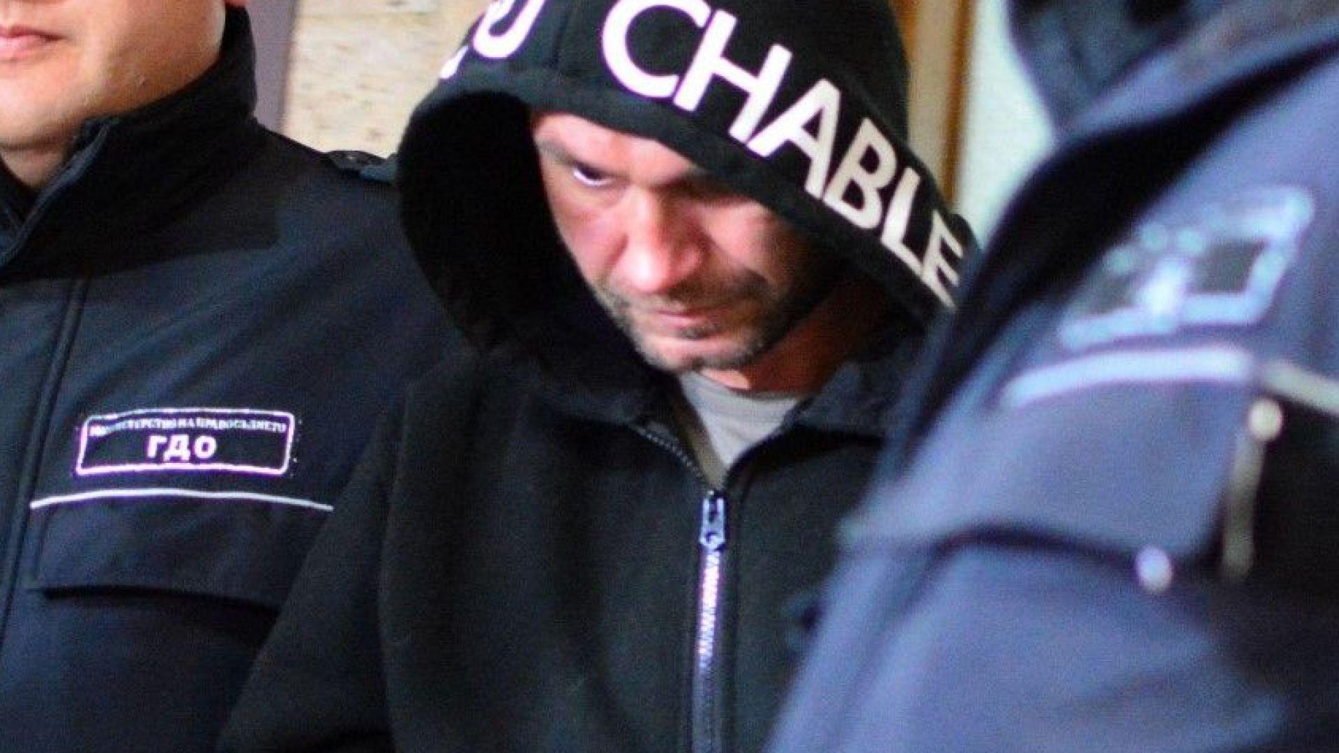 Борислав, който преби до смърт съпругата си, поиска свобода