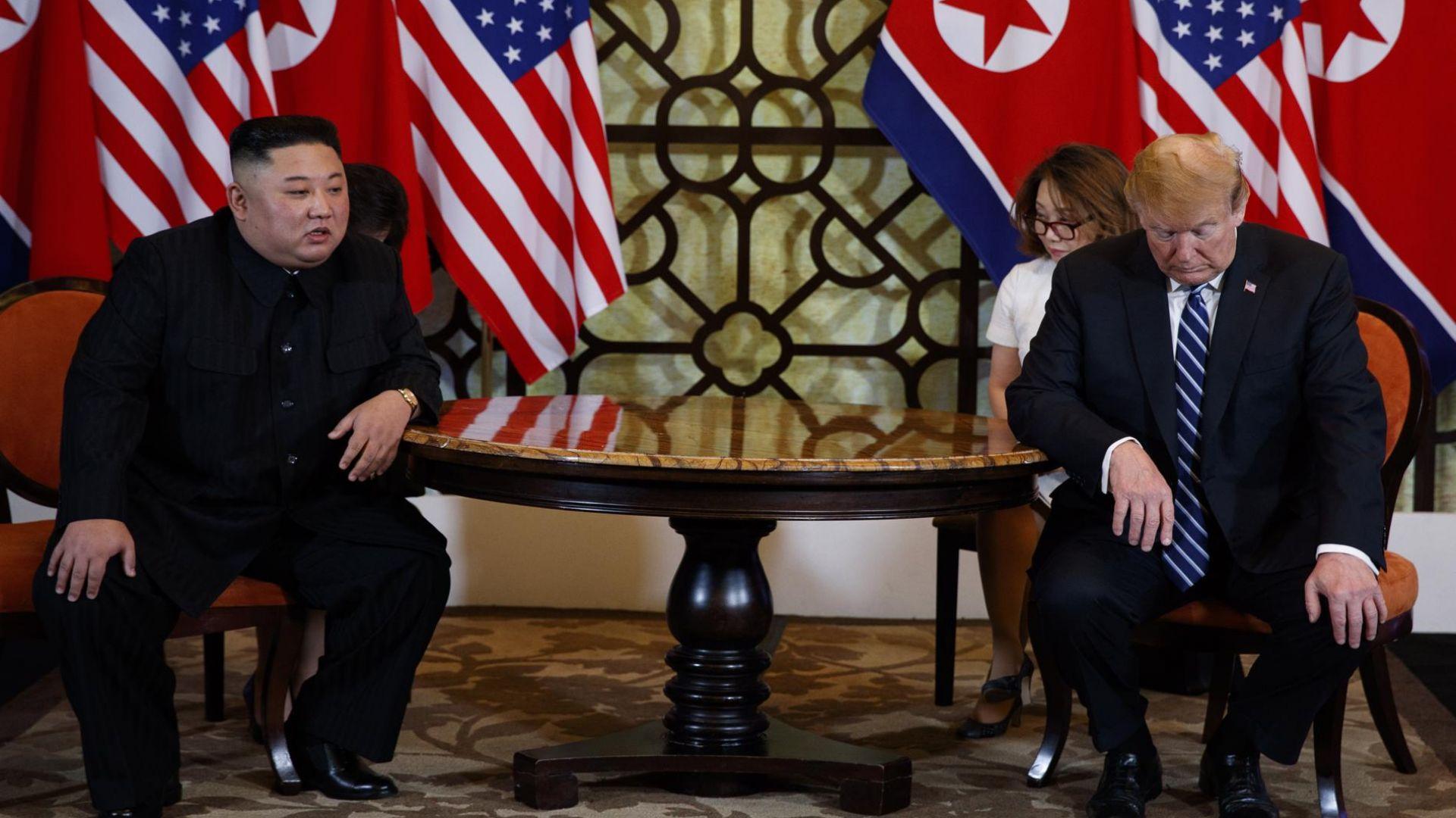КНДР опроверга Тръмп: Не сме искали пълна отмяна на санкциите