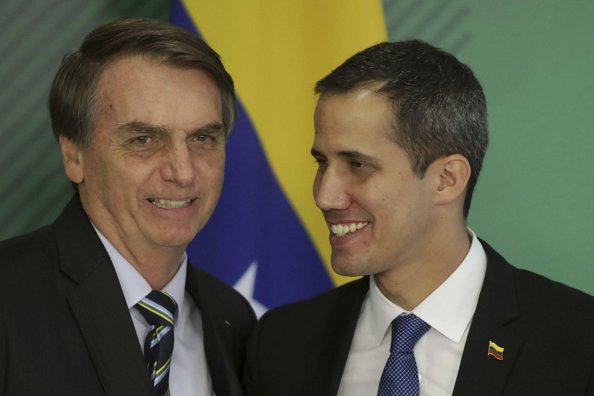 Жаир Болсонаро и Хуан Гуайдо