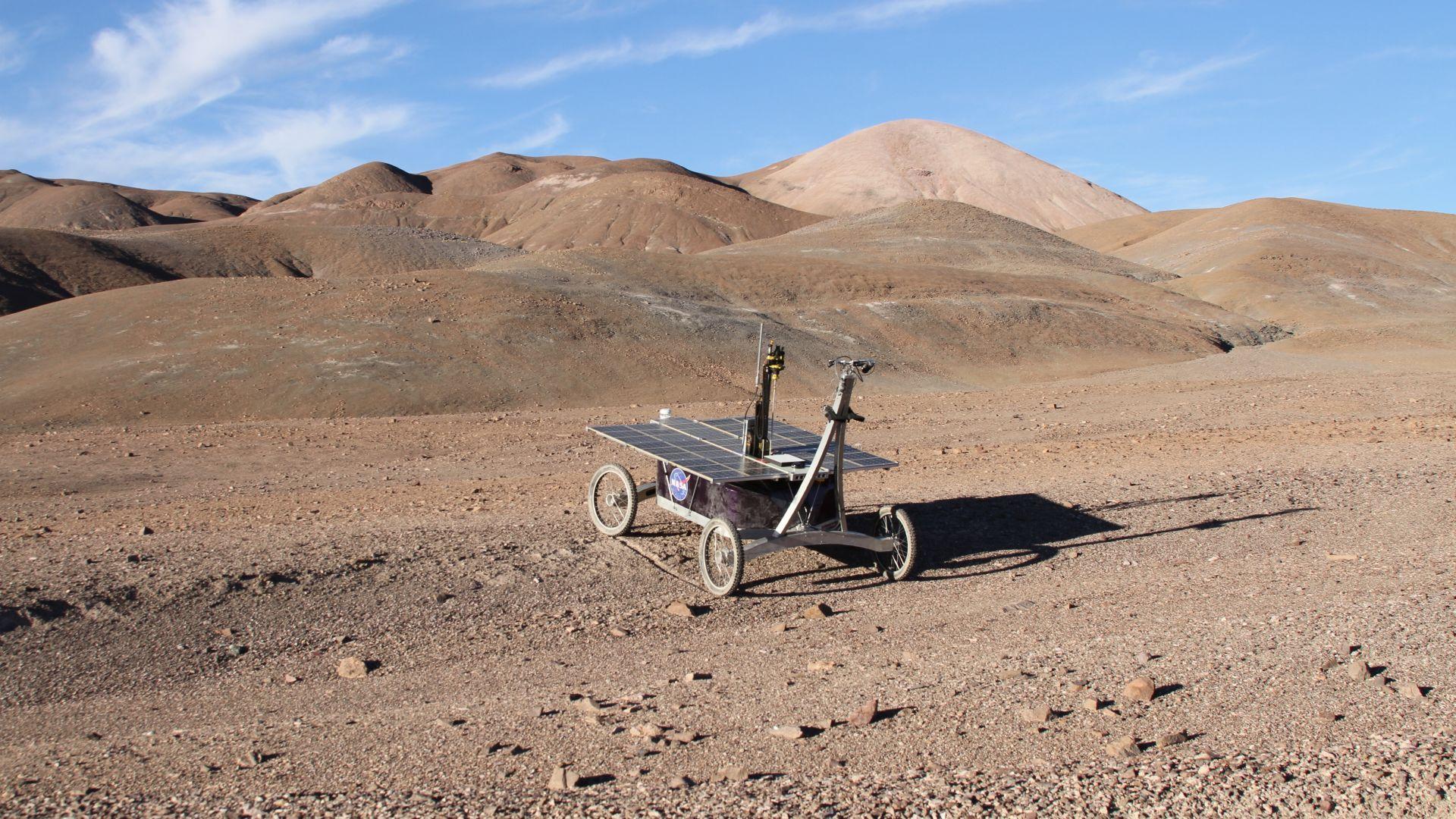 Марсиански роувър откри форми на живот в... Чили
