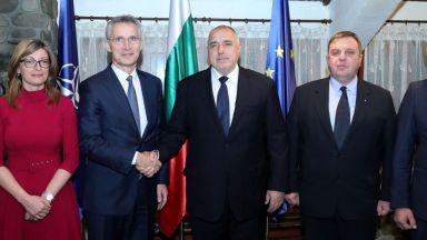 Бойко Борисов след срещата с Йенс Столтенберг: Търсим диалог с Русия, но с превес на НАТО