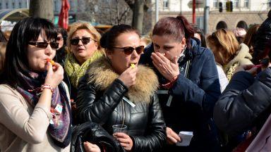 Медицински сестри на протест: Умираме от работа!