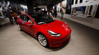 Колите на Тесла, произвеждани в Китай, са препоръчани за субсидии