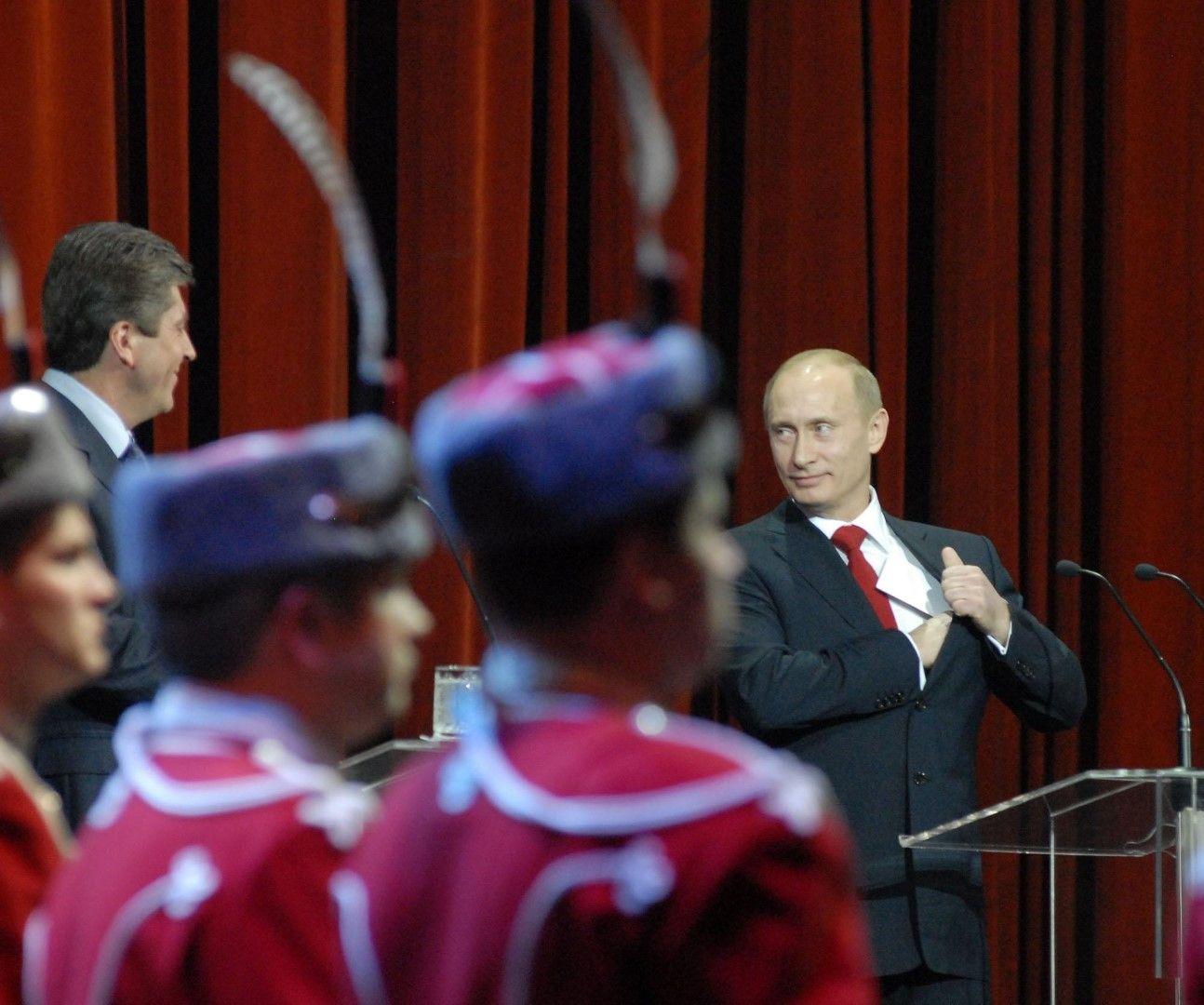 Посещение на Владимир Путин в България, 17.01.2008