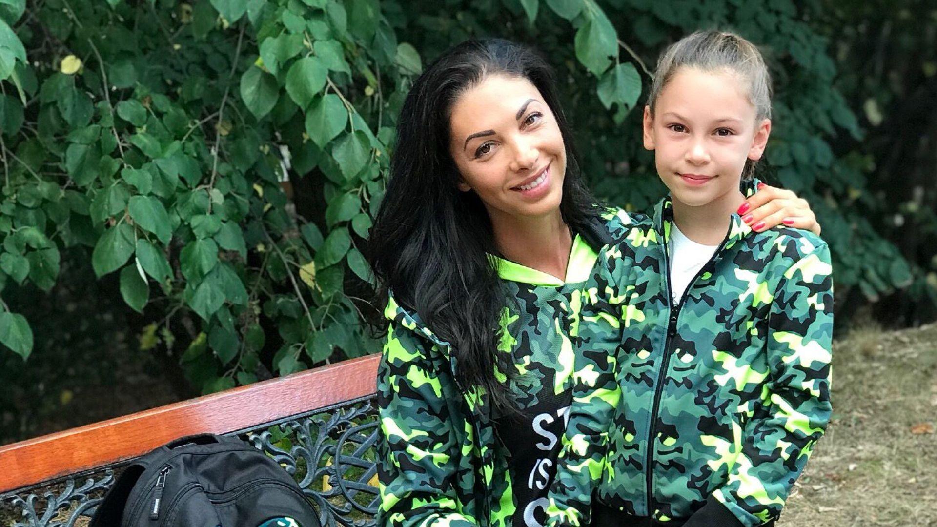 Биляна с дъщеря си Никол