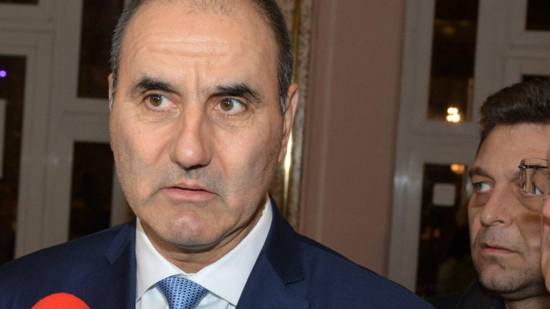Цветанов: Никой не разбра коментарите на Радев след срещата му с деветимата президенти