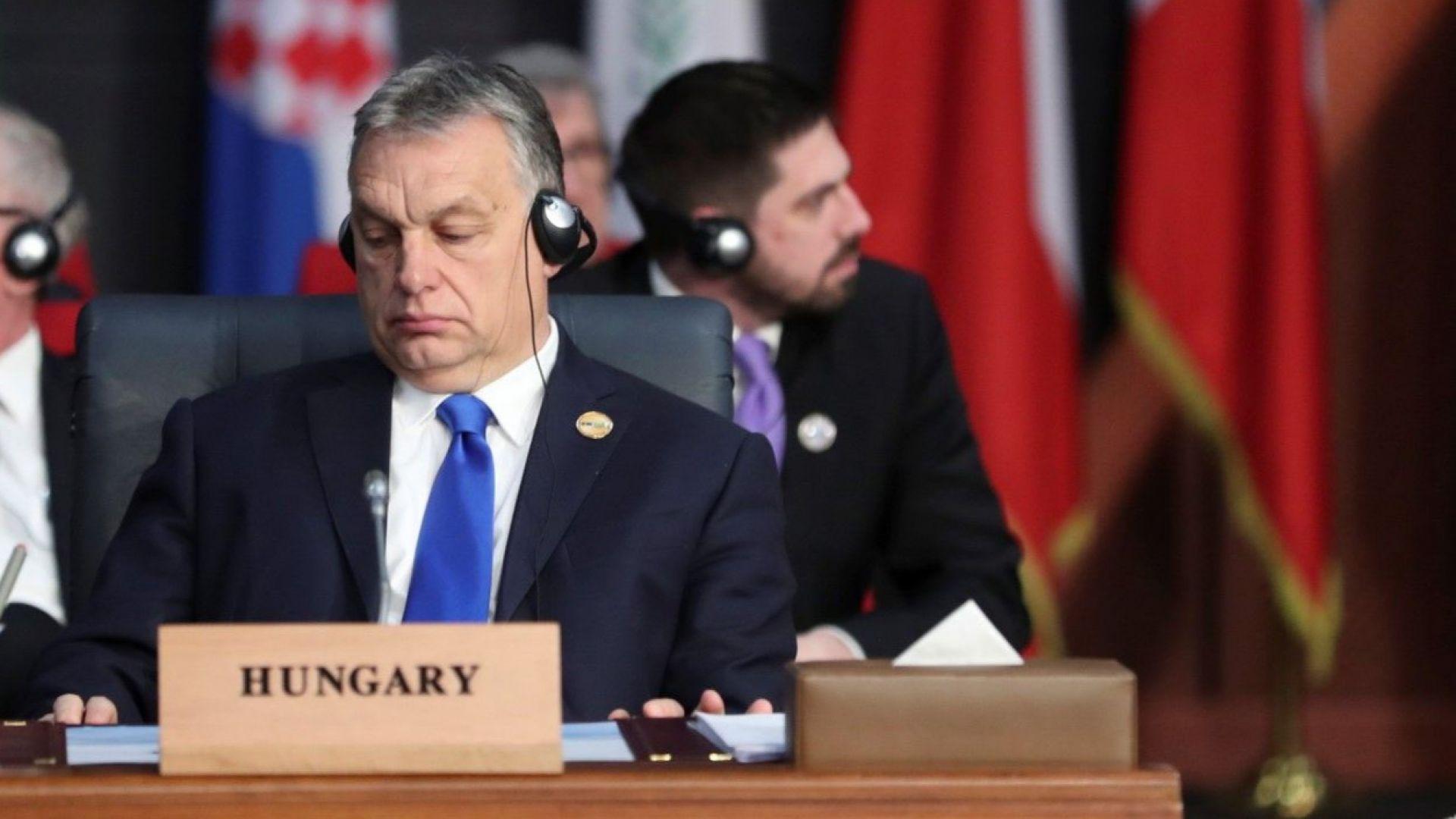 Разраства се бунтът в ЕНП срещу Виктор Орбан