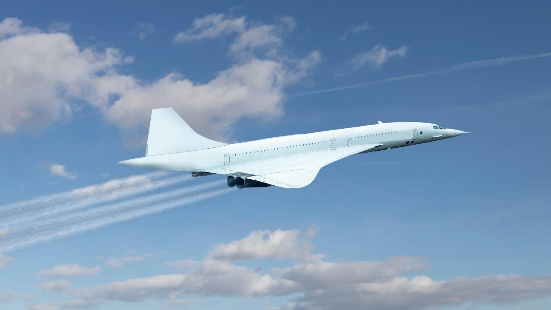 """50 г. от първия полет на свръхзвуковия самолет """"Конкорд"""""""