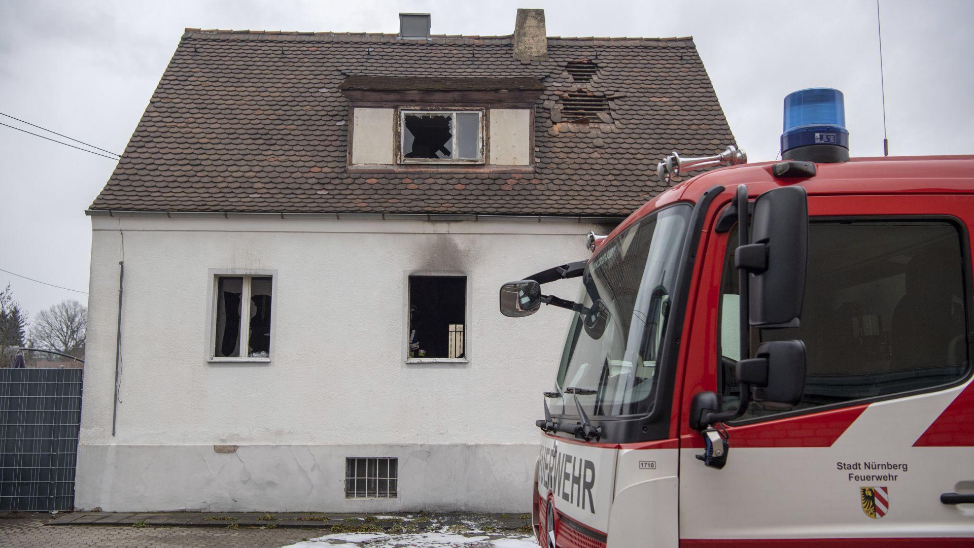 4 деца и жена загинаха при пожар в Нюрнберг