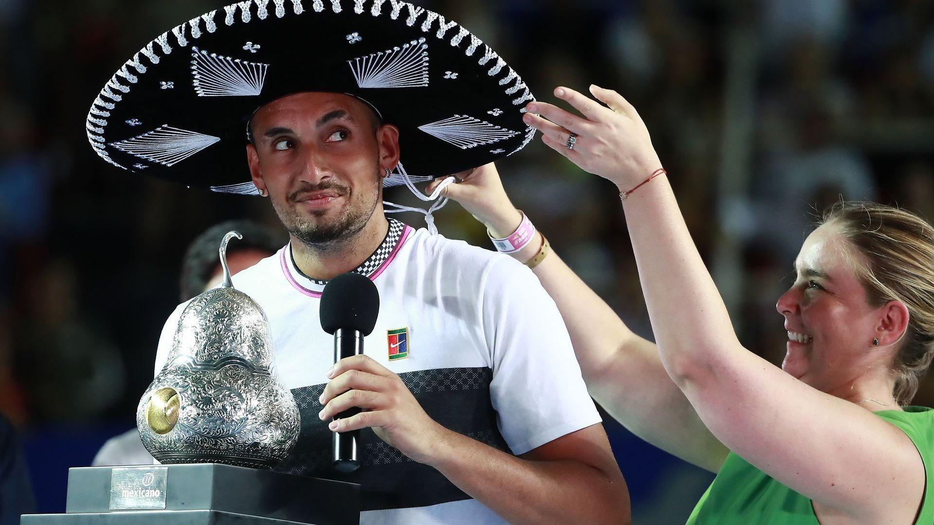 Кирьос заслужи титлата след изключителна седмица в Мексико