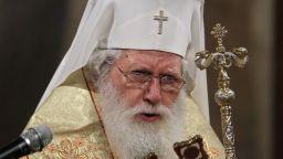 Патриарх Неофит приема папата в Светия синод
