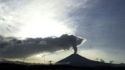 Вулканът Попокатепетъл изригна с мощна експлозия (снимка/видео)