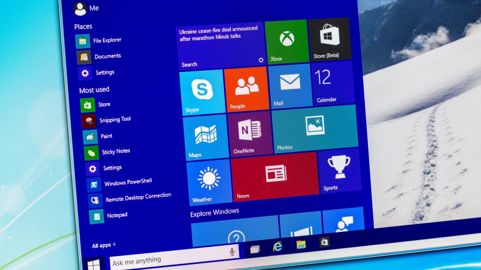 Windows 10 се откъсва сериозно от Windows 7