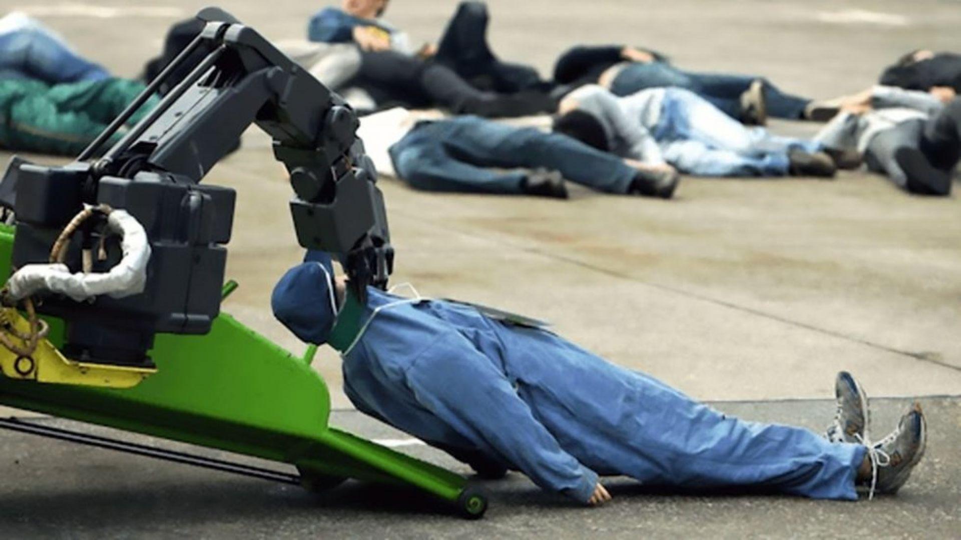 Американската армия прави робот, който се храни с организми
