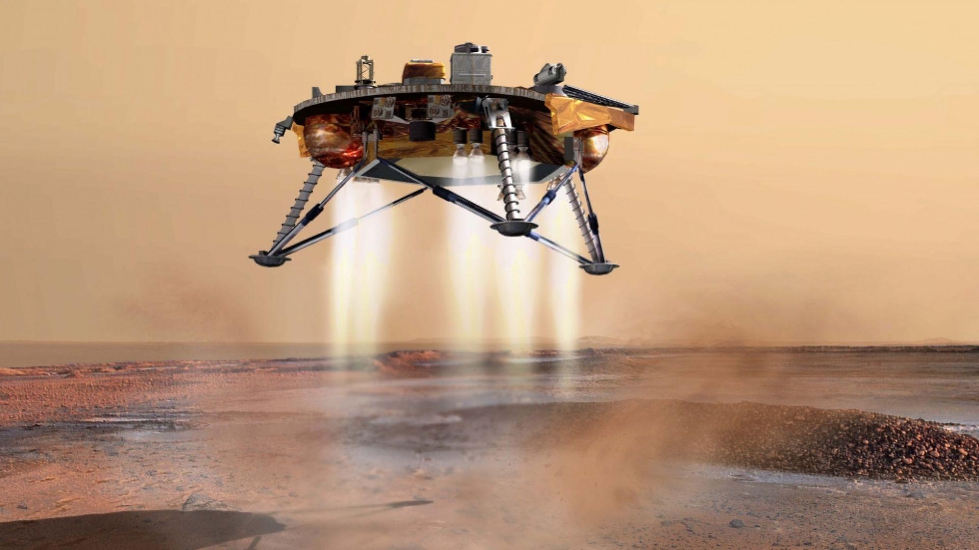 Китайската марсианска сонда започна проверка на научните инструменти