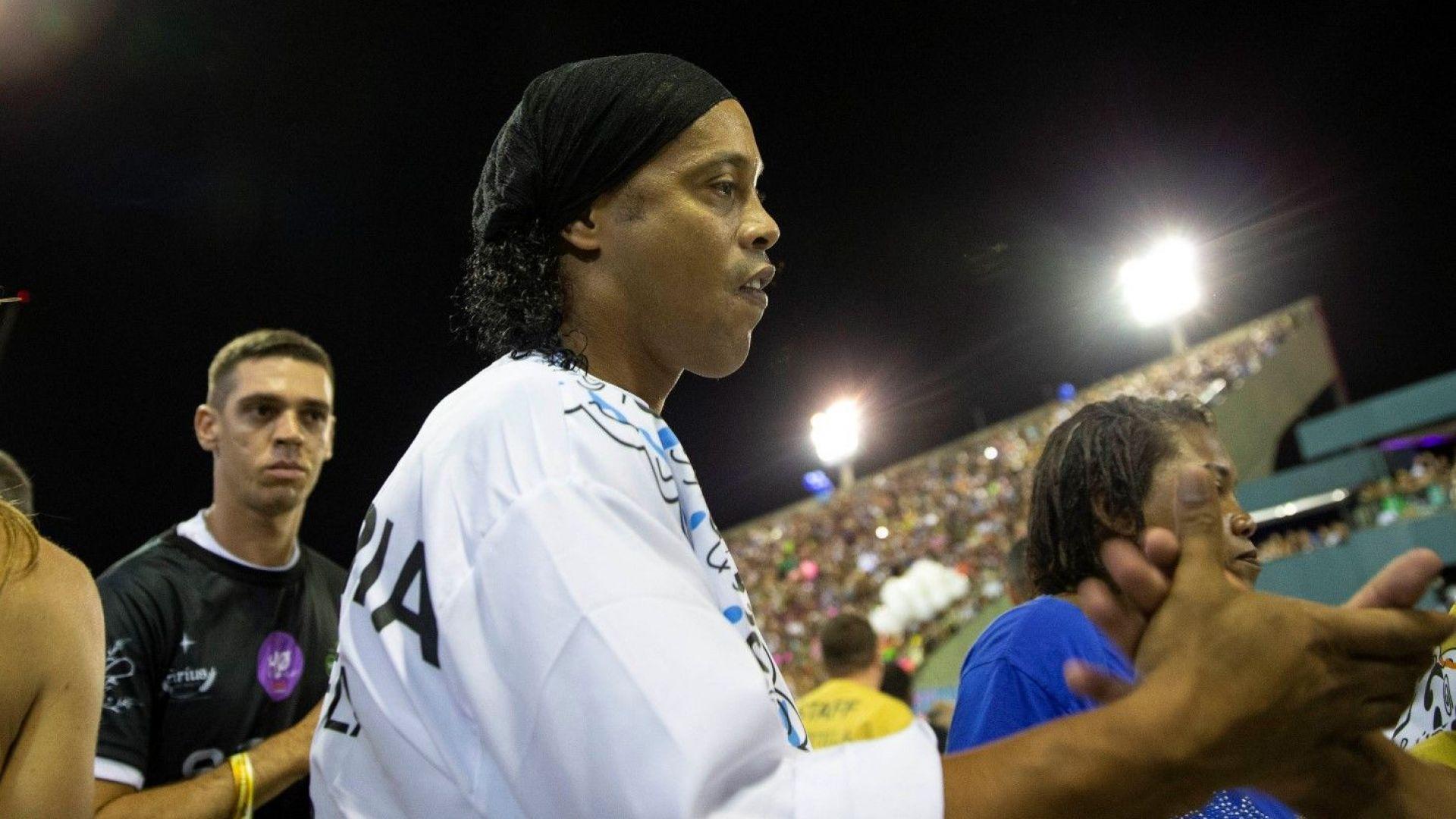 Арестуваха Роналдиньо в Парагвай с фалшиви документи (видео)