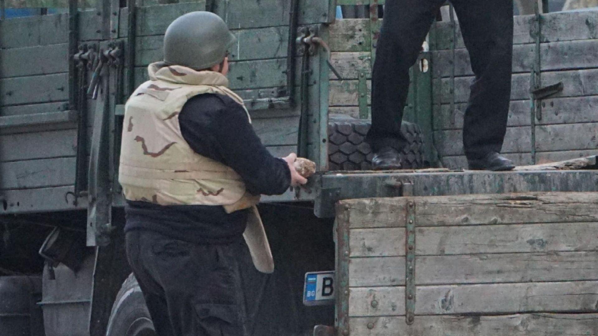 Специализиран екип от Сухопътните войски извърши разузнаване и транспортиране на