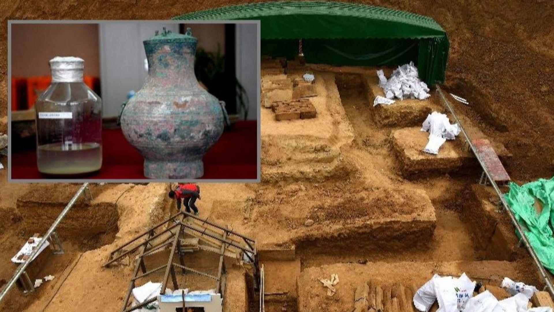 """Откриха """"еликсир на безсмъртието"""" в древна гробница"""