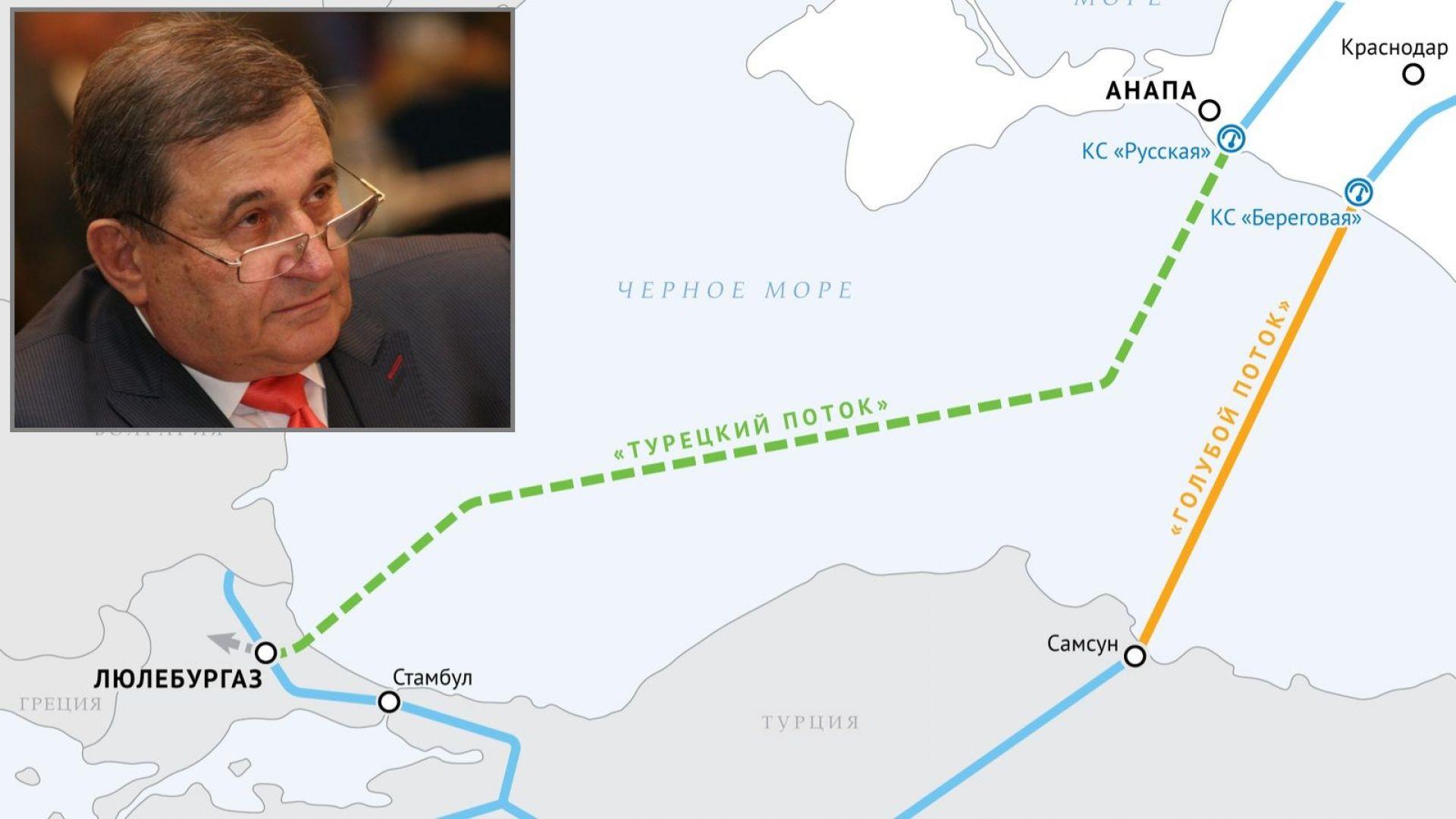 Проф. Тасев пред Dir.bg: Въпросът за изграждане на газопровода дори не стои, ние се съревноваваме с времето