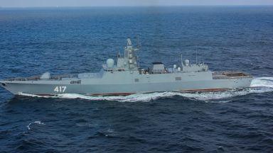 Русия разработва нови фрегати, въоръжени с 48 крилати ракети