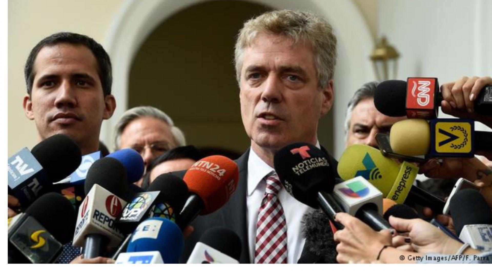 Посланикът на Германия във Венецуела бе обявен за персона нон грата