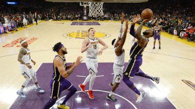 Историческа нощ в НБА - Леброн надмина великия Джордан