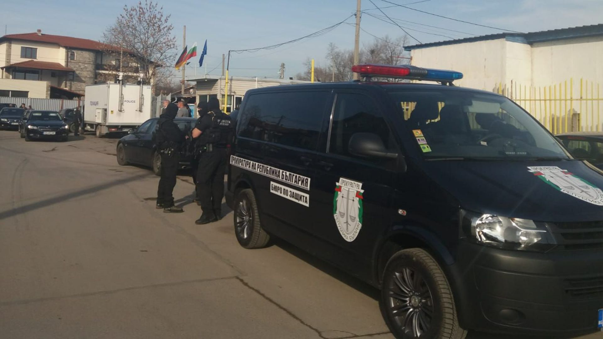 Полицейска акция блокира квартала на Гольовците в Кюстендил