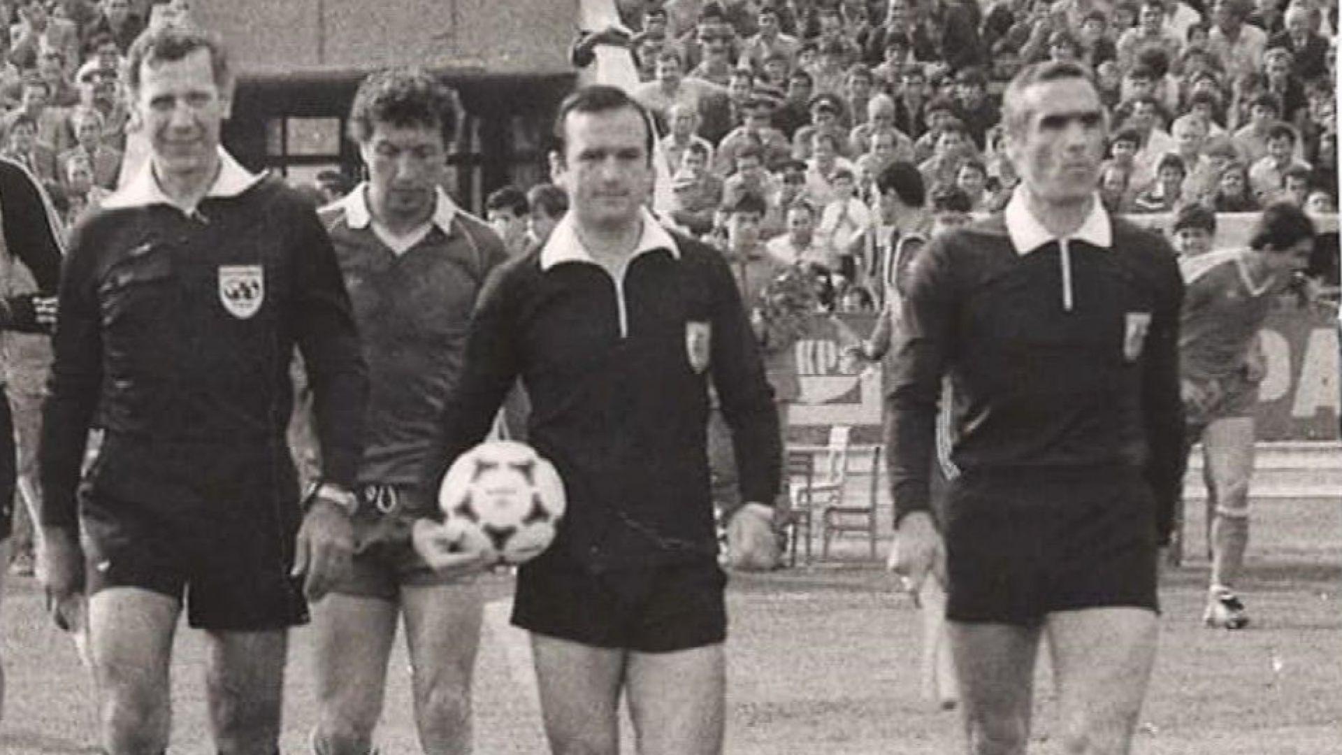 Почина голям български съдия по футбол