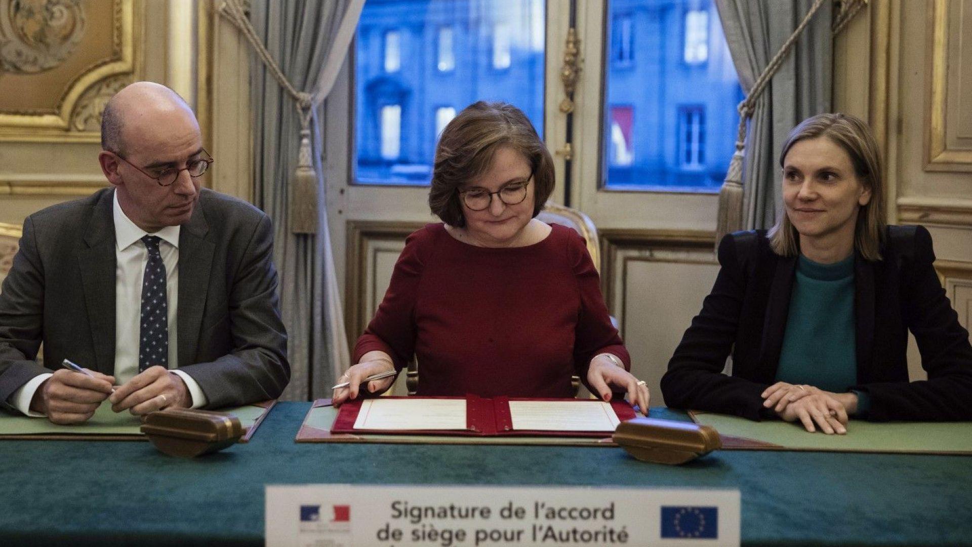 Първи последици от Брекзит: Европейският банков орган се мести от Лондон в Париж