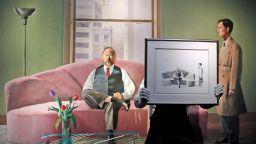Картина на Дейвид Хокни бе продадена за 49 милиона долара