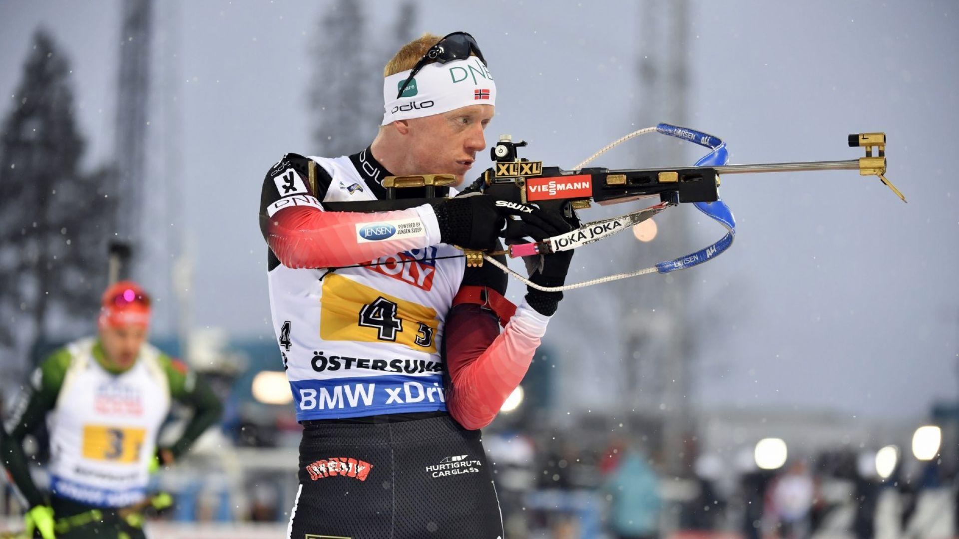 Норвегия срази Германия за първото злато на Световното по биатлон