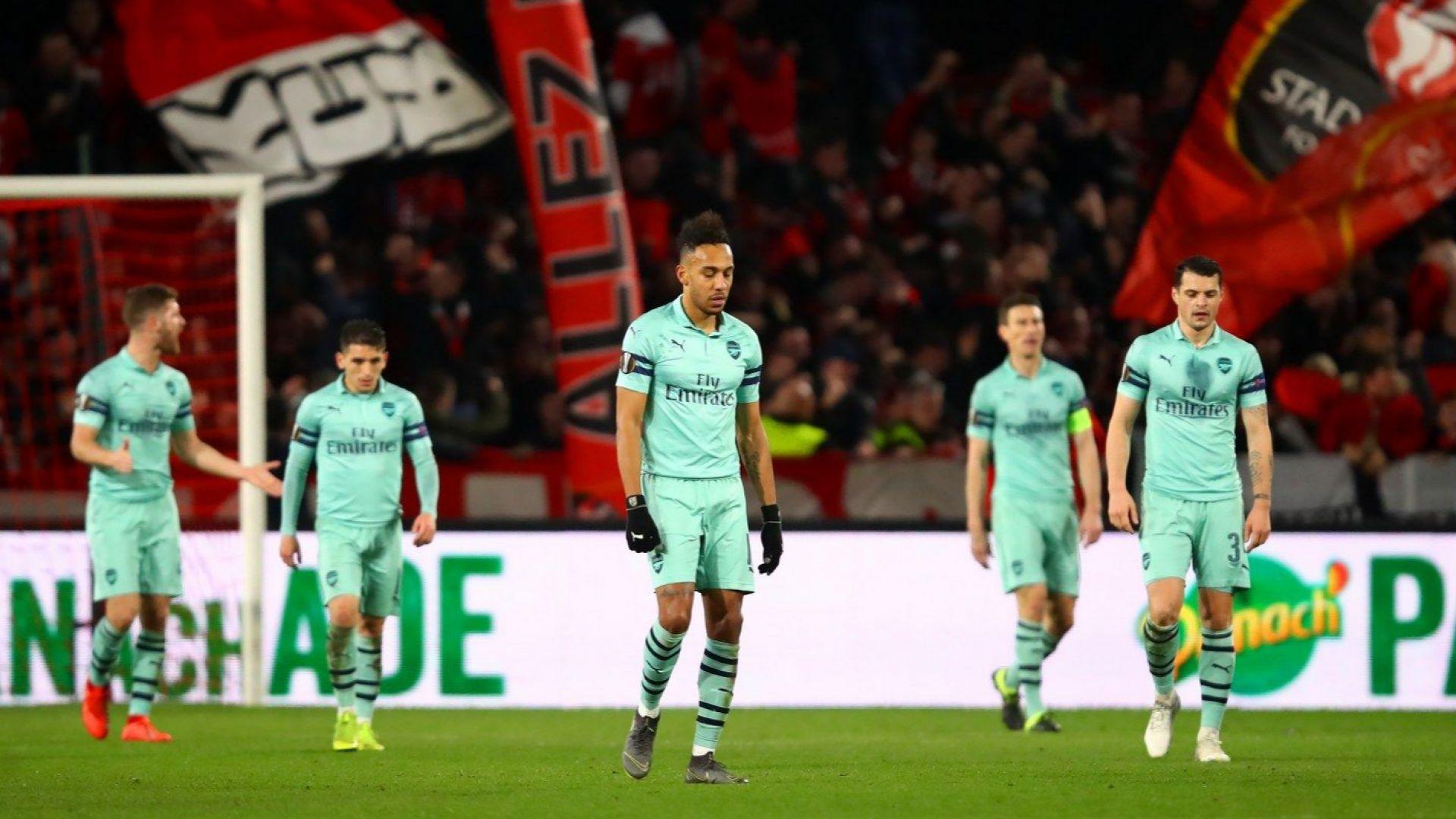 Арсенал капитулира срещу десетия във Франция (резултати)