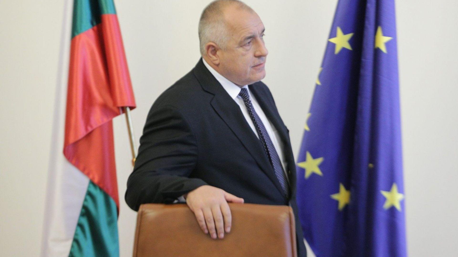 Борисов проведе телефонен разговор с британския премиер Тереза Мей
