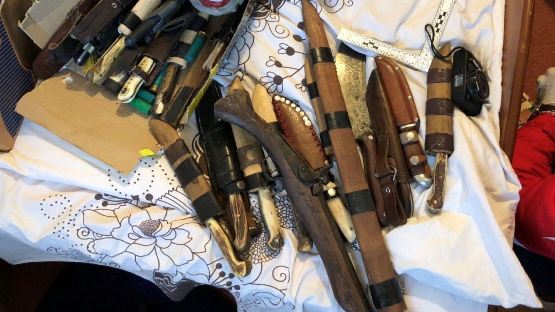 При спецоперация конфискуваха 72 ловни трофея, боеприпаси, незаконни оръжия