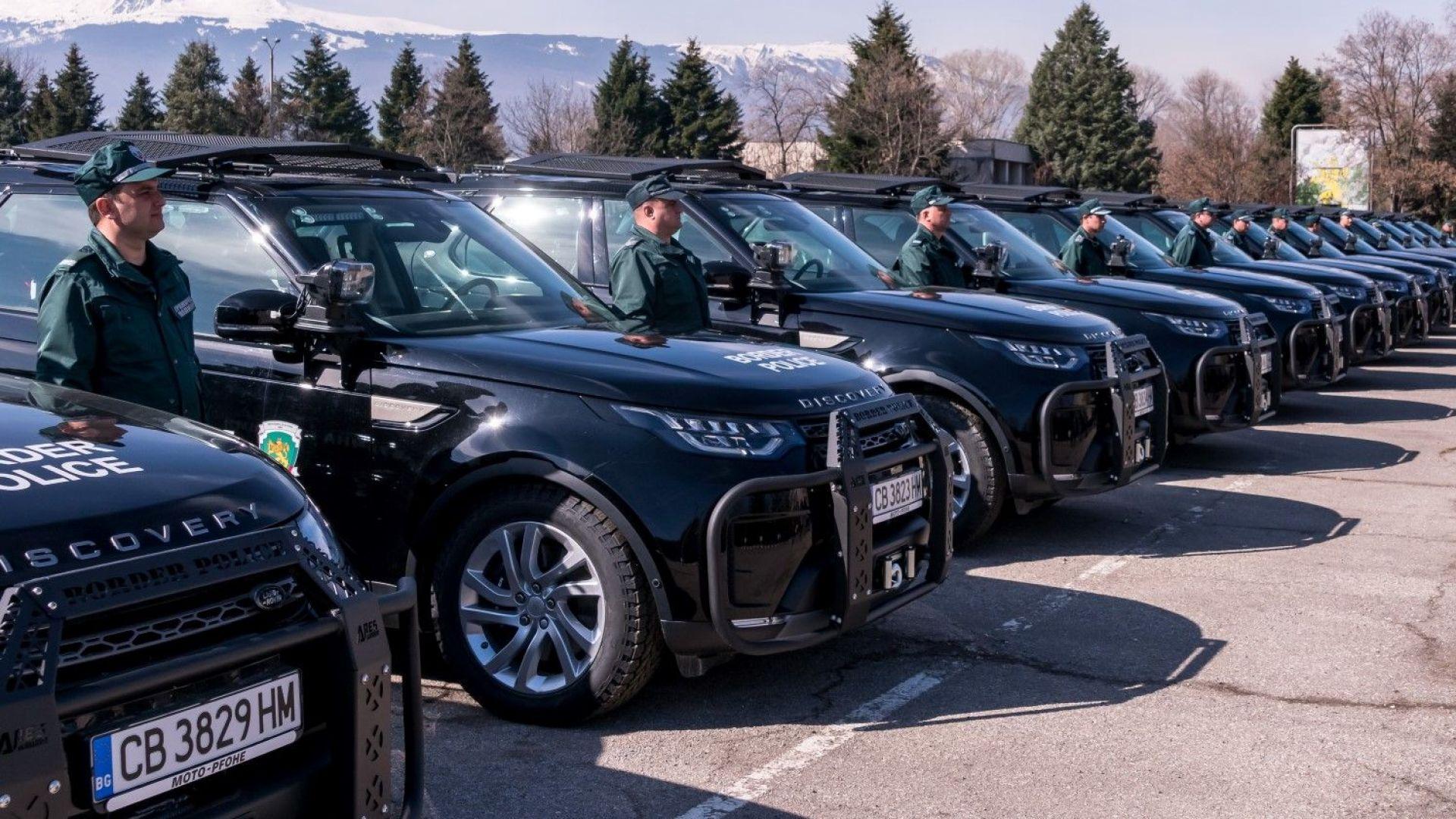 Гранична полиция получи 70 нови автомобила (снимки)