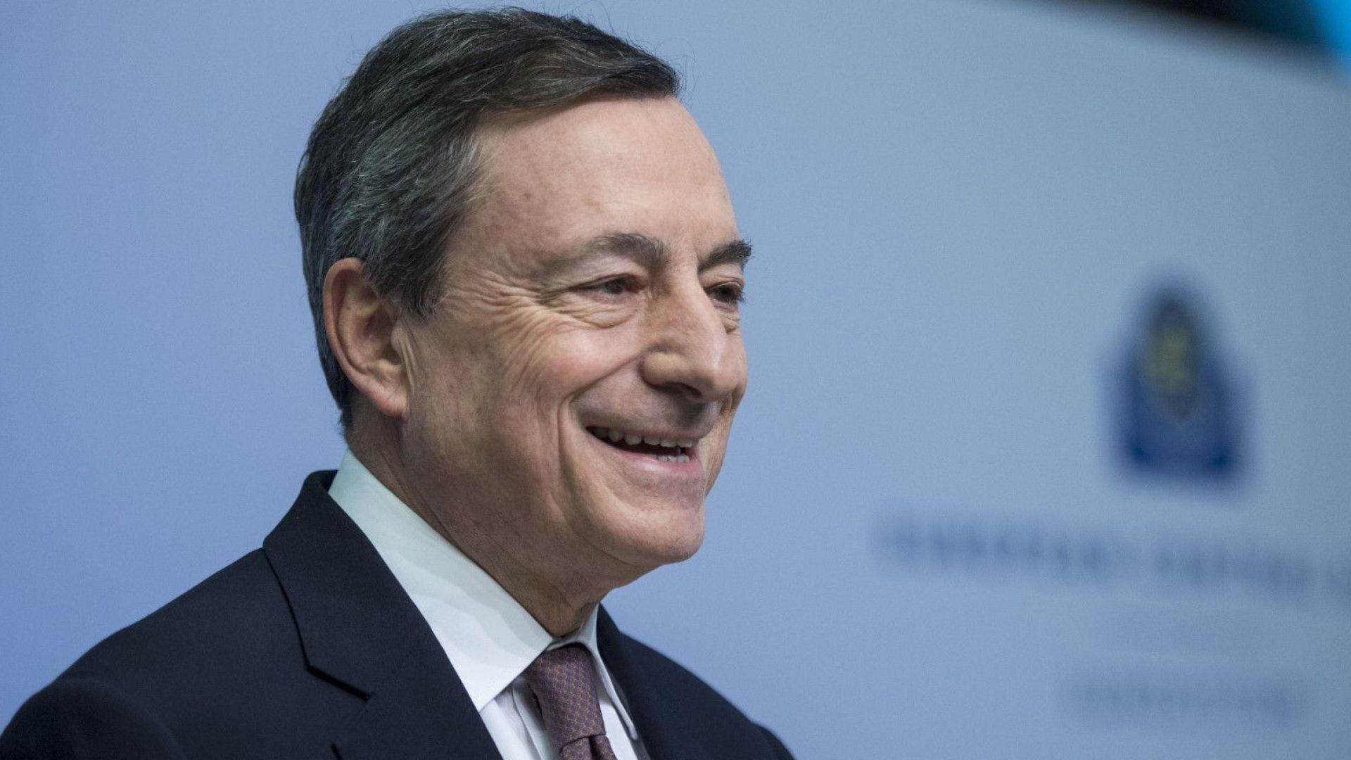 Драги: Подкрепата на ЕЦБ е жизнено важна за икономиката