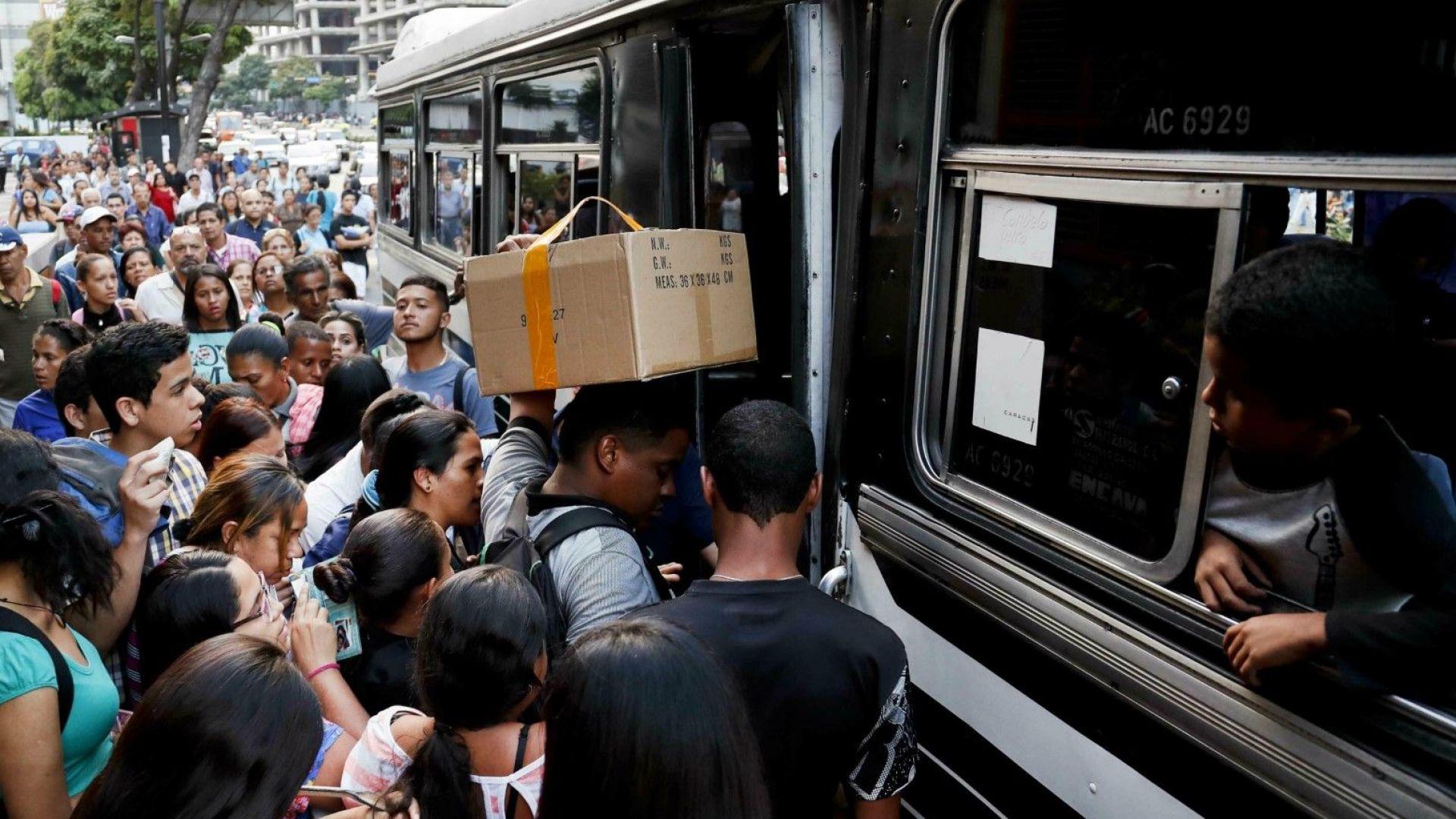 Бедствено положение в Каракас, няма ток, вода, телефони и метро не работят