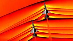 НАСА показа снимки на самолети, преминаващи звуковата бариера