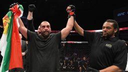 Багата се справи с американец за първа UFC победа