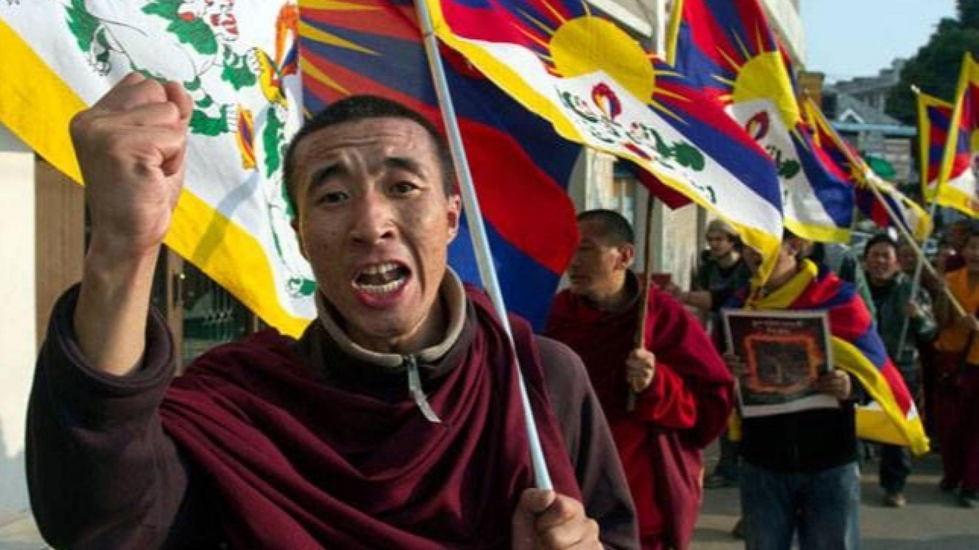 Тибетски активисти отбелязват 60 години от въстанието срещу Китай