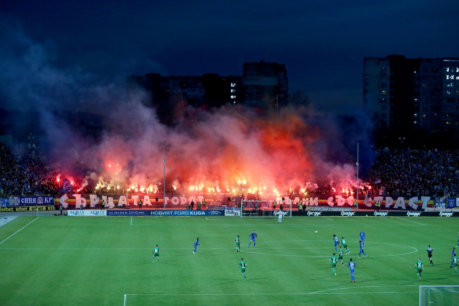 Как трябва да приключи българският футболен шампионат? (анкета)