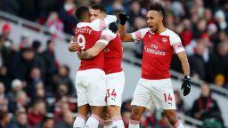 """Арсенал нанесе втората загуба на """"новия"""" Юнайтед и влезе в топ 4"""