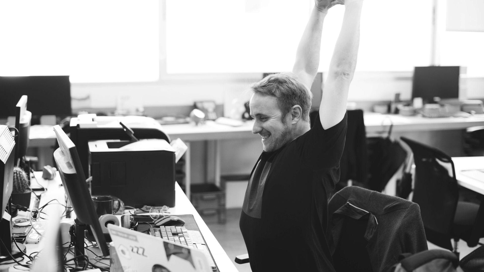 Как работата в голяма компания може да ни предпази от... стреса